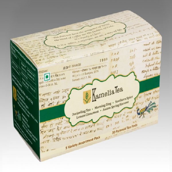 Combo Box (G)- Box of 20 Tea Pods
