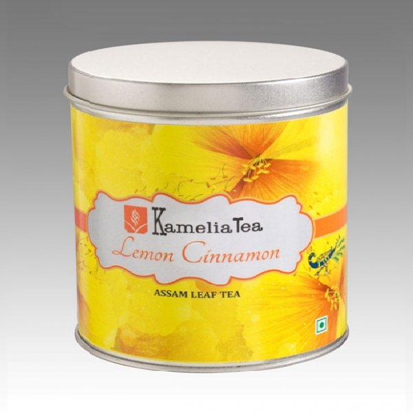 Lemon Cinnamon- Tin Caddie of 100g