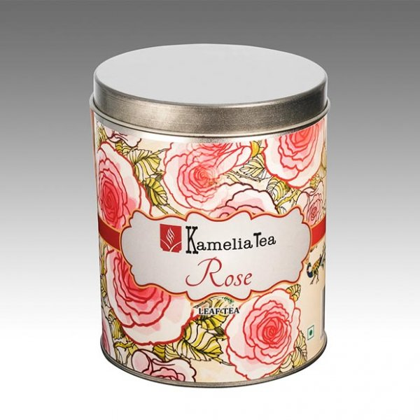 Rose Tea- Tin Caddie of 100g